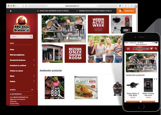 Webshop BBQ Shop Brabant