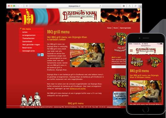 Website Dzjengis Khan