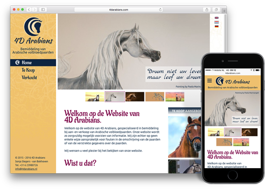 Website 4D Arabians