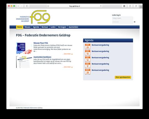 Website FOG Geldrop